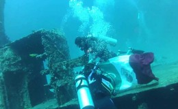 Wreck Dive c55 Barrera Cancun