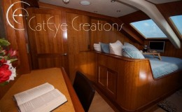 74′ Power Catamaran Internal stateroom 2