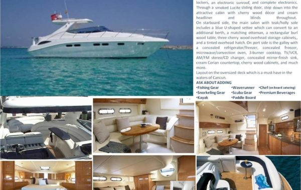 45′ Sealine Luxury Yacht