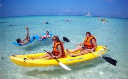 Beach-Activities-Kayaking-Cozumel-Island