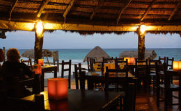 Hotels and night dining in tulum