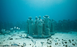Underwater Museum cancun-diving-spot-mexico