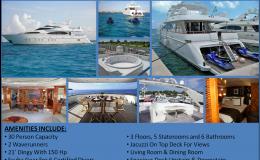100′ Azumut Luxury Mega Yacht