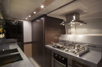 galley kitchen remodel pictures 60 catamaran 3715