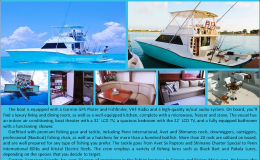 42′ Hatteras Luxury Fishing Yacht