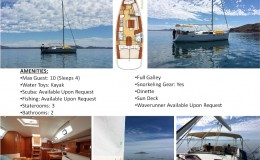 43′ Beneteau Sailing Yacht