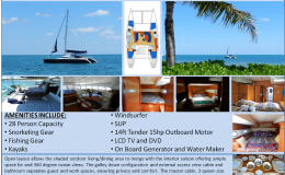 47′ Luxury Catamaran