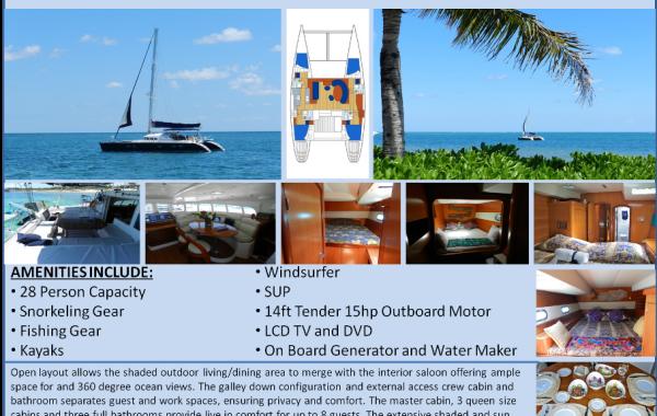 47′ Luxury Catamaran