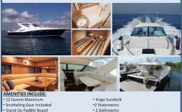 51′ Uniesse Power Luxury Yacht