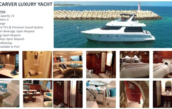 55' Carver Luxury Yacht