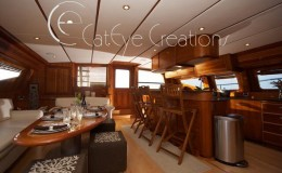 74′ Power Catamaran Internal
