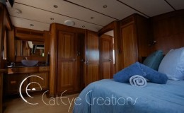 74′ Power Catamaran Internal stateroom 3