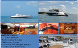 74′ Sunseeker Predator Power Luxury Yacht