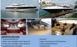 82′ Sunseeker Predator Luxury Power Yacht