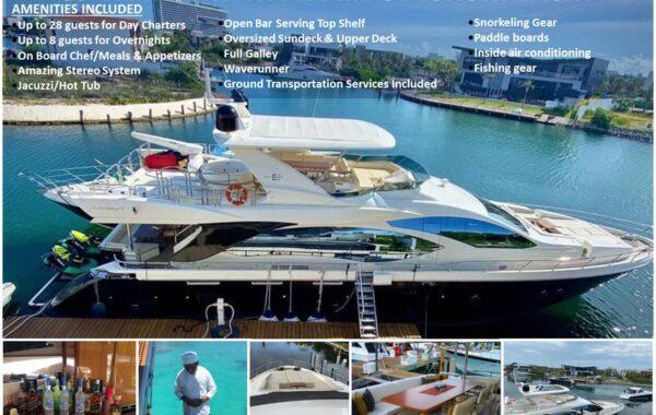 85′ Azimut With Flybridge Luxury Yacht