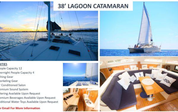 38' Lagoon Catamaran