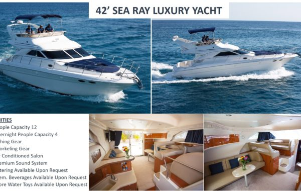 42′ Sea Ray Luxury Yacht