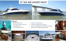 47′ Sea Ray Luxury Yacht