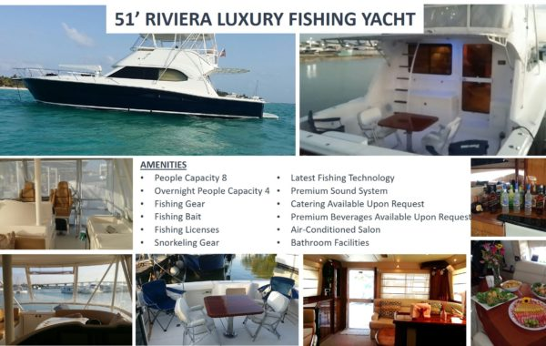 51' Riviera Fishing Boat Luxury Yacht