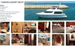 55′ Carver Luxury Yacht