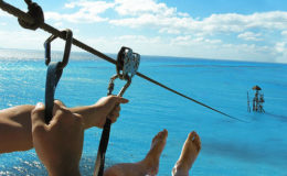Zip Lining Isla Mujeres
