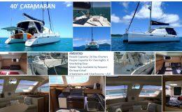 40′ Catamaran Pics