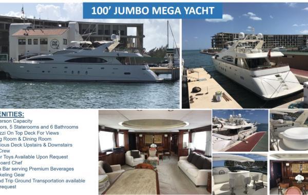 100′ Azimut Jumbo Mega Yacht