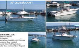 30′ Cruiser Craft Charter Boat