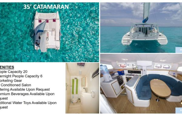 35' Catamaran