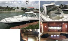 40′ Sea Ray Sport Yacht