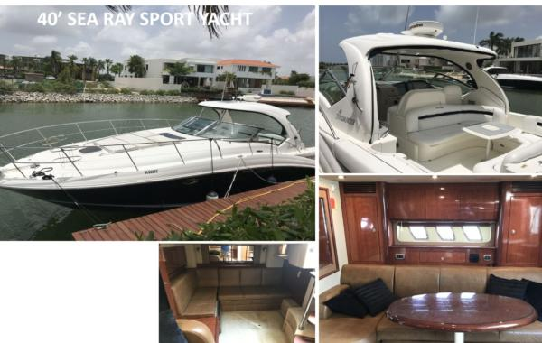 40' Sea Ray Sport Yacht