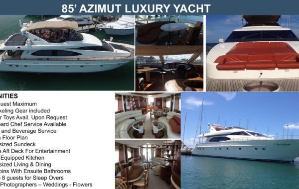 85' Azimut Luxury Yacht