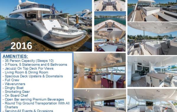 100' Maiora Luxury Mega Yacht