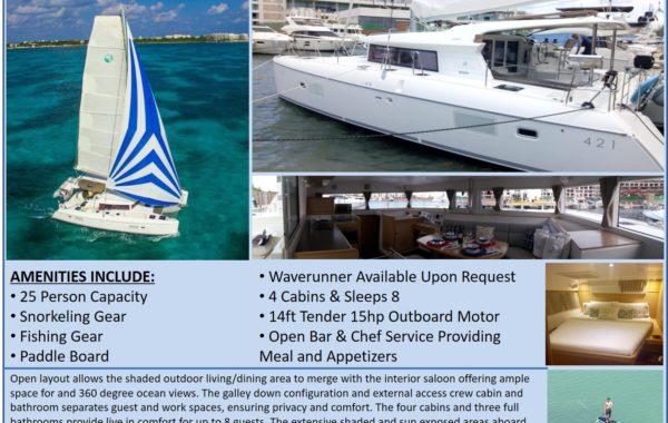 42′ Lagoon Sailing Catamaran