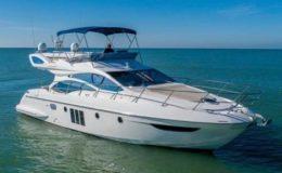 55′ Azimut Luxury Yacht