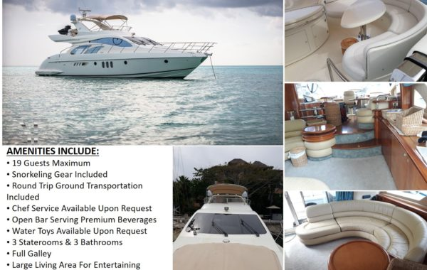 55' Azimut With Flybridge Luxury Yacht