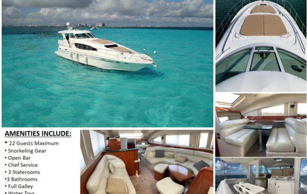 60′ Sea Ray Luxury Yacht