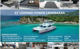 51′ Leopard Power Catamaran 1