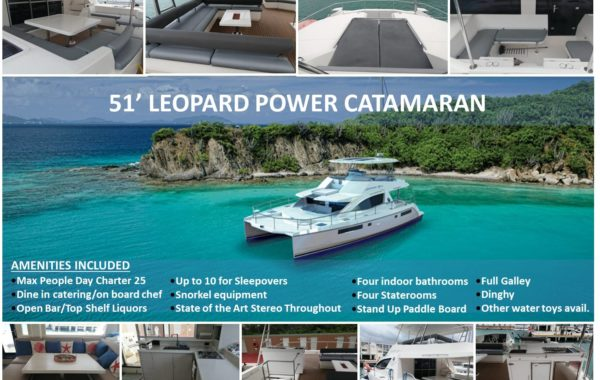 51' Leopard Power Luxury Catamaran