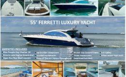 55′ Ferretti Luxury Yacht 1