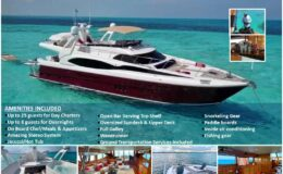 80′ Dyna With Flybridge Luxury Yacht
