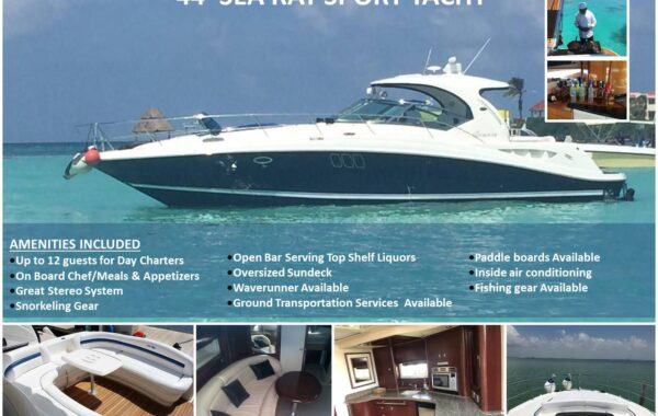 44′ Sea Ray Sport Yacht