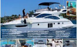 48′ Azimut With Flybridge Luxury Yacht