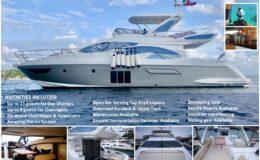 54′ Azimut With Flybridge Luxury Yacht