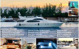 59′ Azimut With Flybridge Luxury Yacht