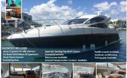 60′ Predator Luxury Yacht