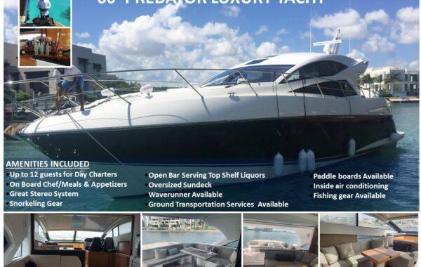 60' Sunseeker Predator Luxury Yacht