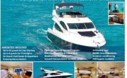 64′ Sunseeker Manhattan Luxury Yacht Blue
